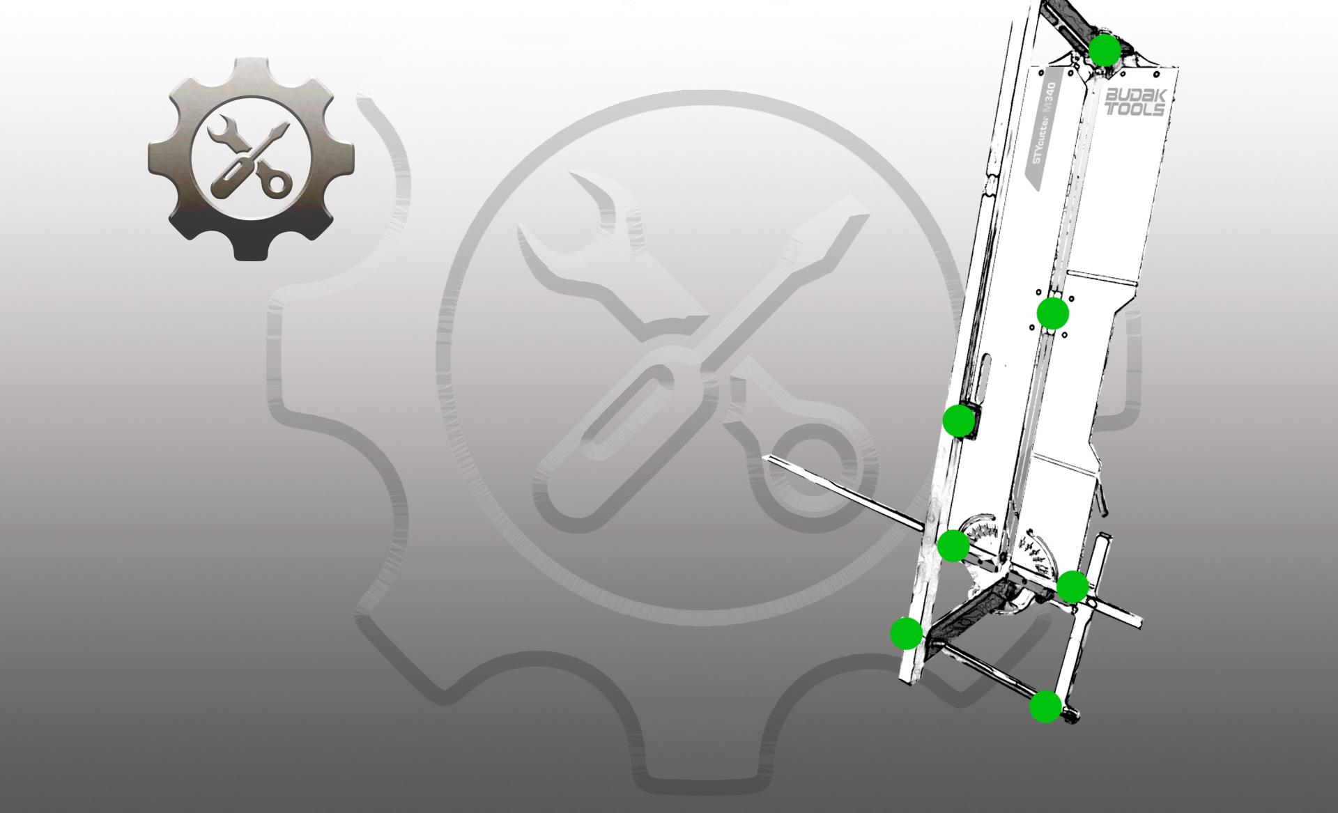Ersatzteile und Zubehör für Dämmstoffschneidemaschinen