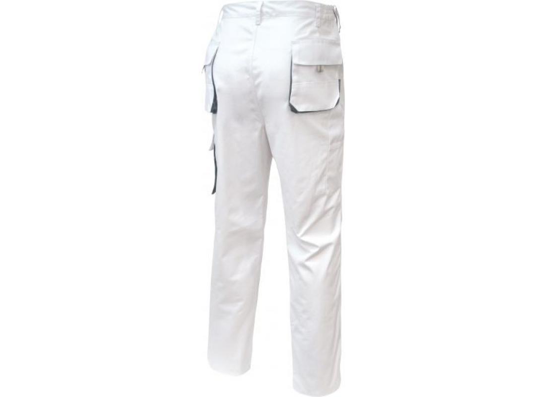 Bundhose weiß/grau