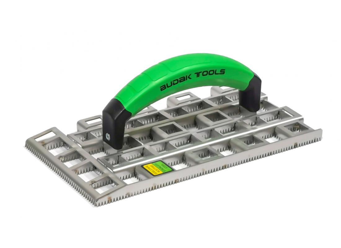 Profi-Schleifraspel BudakTools V2A Stahl 280 x 140 x 15 mm