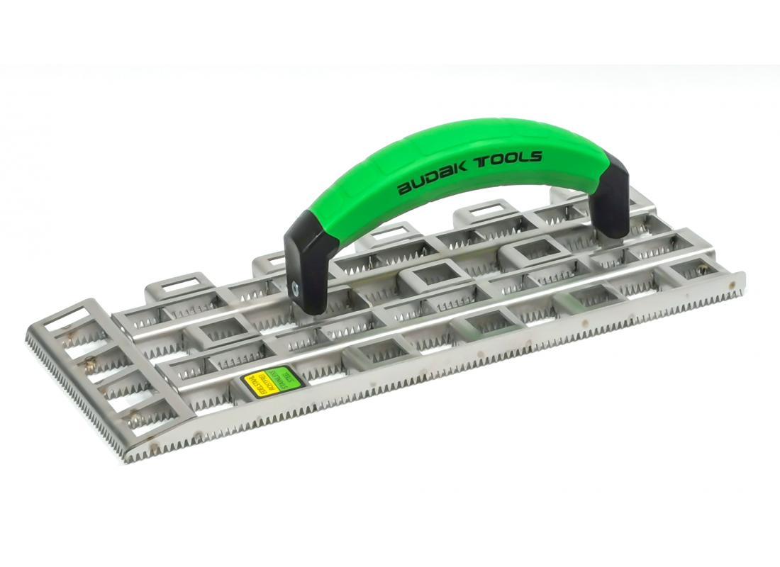 Profi-Schleifraspel groß BudakTools Plus, V2A Stahl 330 x 140 x 15 mm