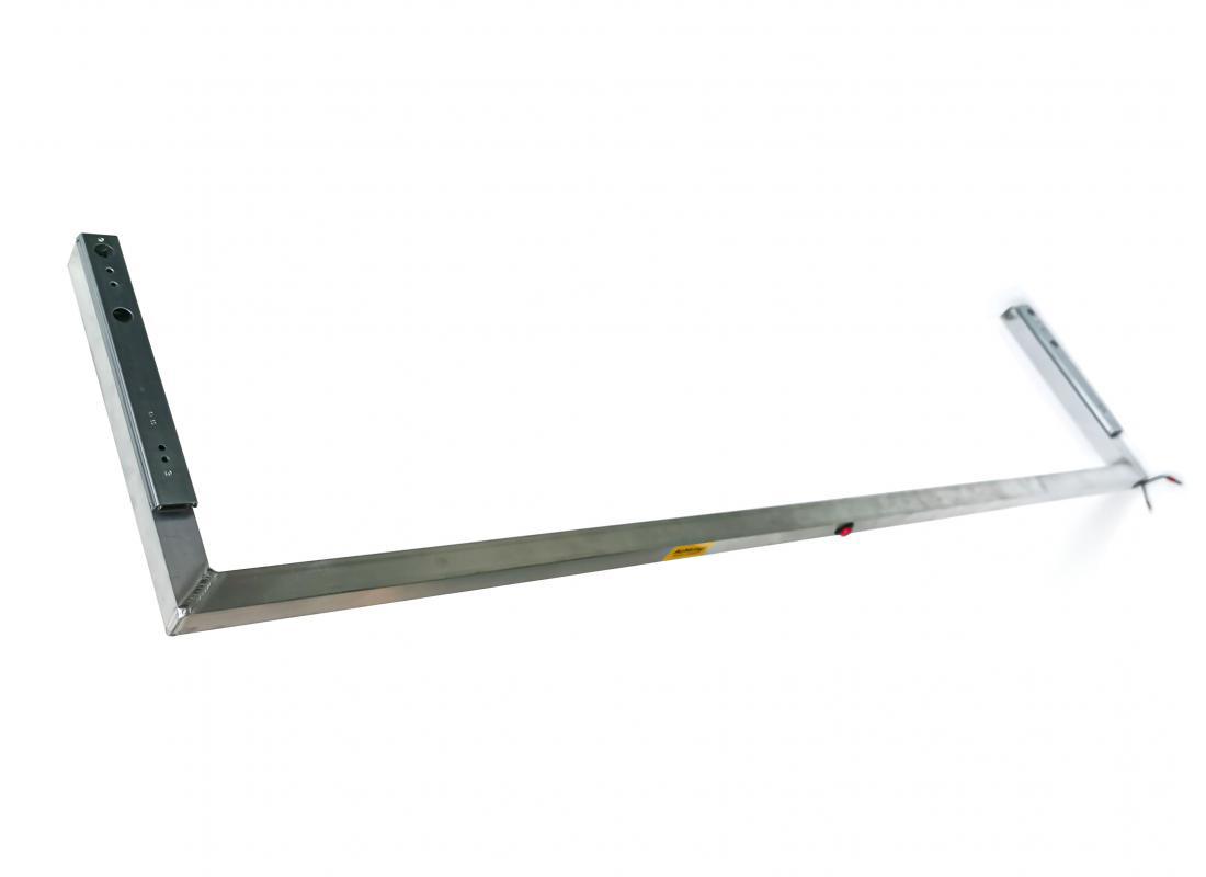 Bügel 1300L, vormontiert, inkl. Kugellaufschienen