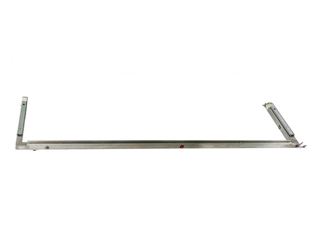 Bügel 1400, vormontiert, inkl. Kugellaufschienen
